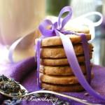 Ciasteczka Maślano – Cytrynowe z Lawendą