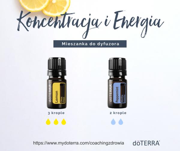 Lemon i Peppermint Olejki Eteryczne