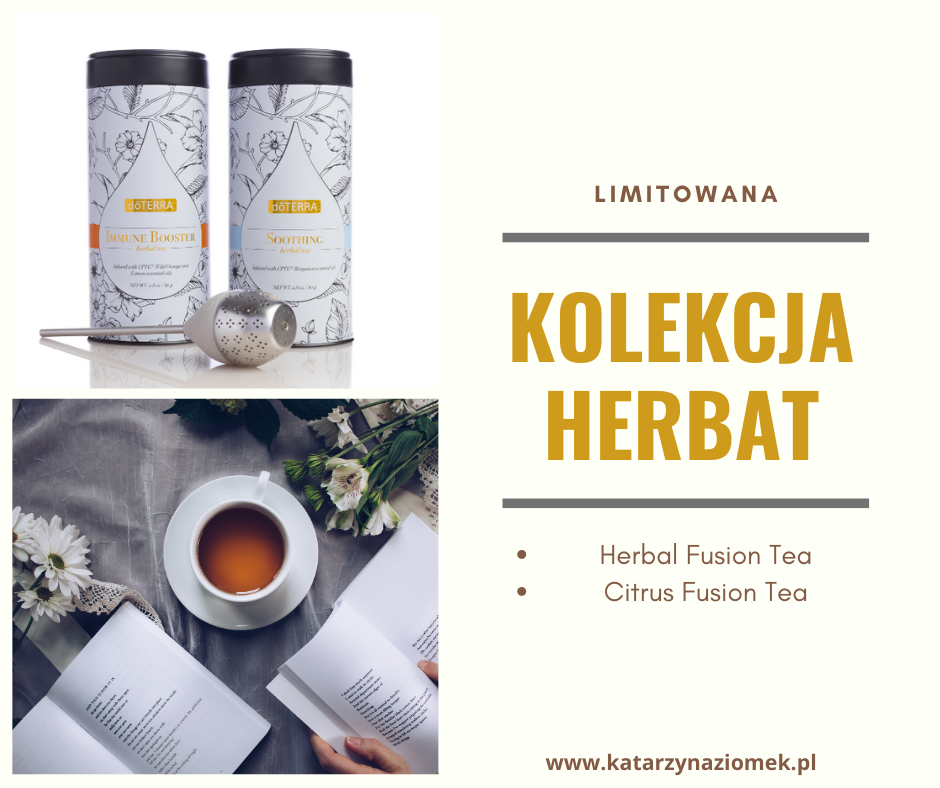 wyjątkowe herbaty doTERRA