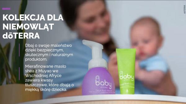 kolekcja dla niemowląt doTERRA
